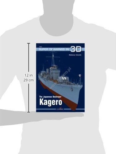 The Japanese Destroyer Kagero (Super Drawings In 3D)