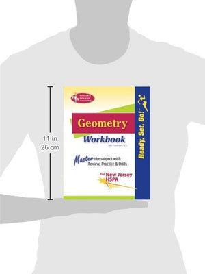 New Jersey Hspa Geometry Workbook (Mathematics Learning And Practice)
