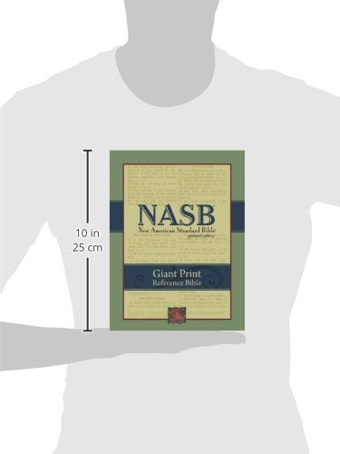 Nasb Giant-Print Reference Bible (Burgundy Genuine Leather)