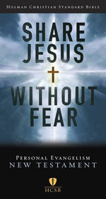 Hcsb Share Jesus Without Fear New Testament, Trade Paper