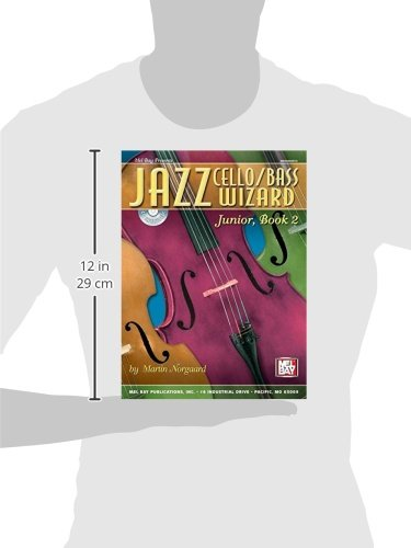 Mel Bay Jazz Cello/Bass Wizard Junior, Book 2