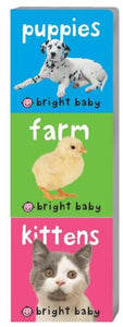 Bright Baby Chunky Pack: Puppies, Farm, Kittens