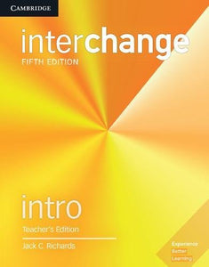 Interchange Intro Teacher'S Edition With Complete Assessment Program