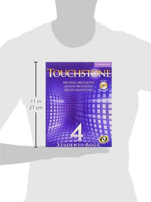 Touchstone Level 4 Student'S Book With Audio Cd/Cd-Rom (Touchstones)