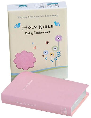 Common English Bible, Softtouch Pink, New Testament, Baby Edition