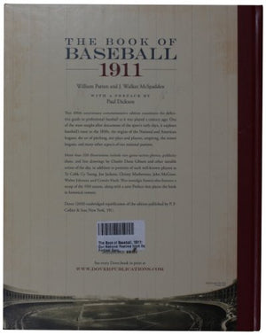 The Book Of Baseball, 1911: Our National Pastime From Its Earliest Days (Dover Baseball)