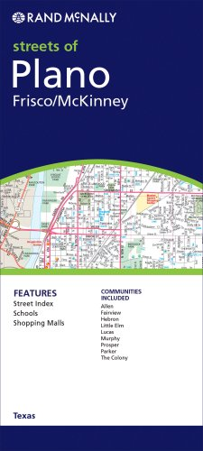 Rand Mcnally Plano/Frisco/Mckinney Tx (Rand Mcnally Streets Of...)
