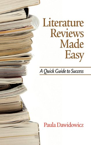 Literature Reviews Made Easy: A Quick Guide To Success (Hc)