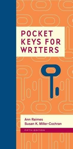 Pocket Keys For Writers, Spiral Bound Version (Keys For Writers Series)