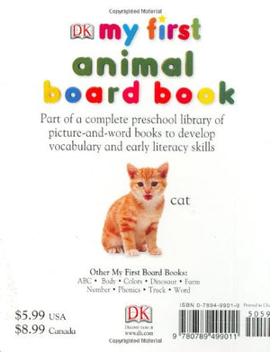 Dk Mf Animal Board Bk Rev Edit (My 1St Board Books)