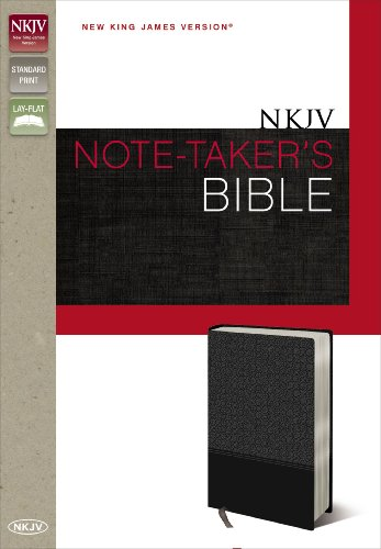 Nkjv, Note-Taker'S Bible, Imitation Leather, Gray, Red Letter Edition