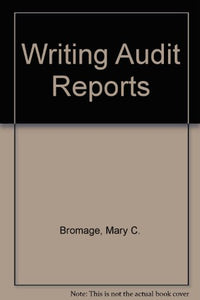 Writing Audit Reports