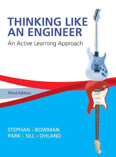 Thinking Like An Engineer: An Active Learning Approach Plus Myengineeringlab -- Access Card Package (3Rd Edition)