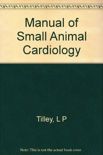 Manual Of Small Animal Cardiology