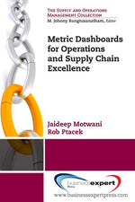 Metric Dashboards For Operations And Supply Chain Excellence