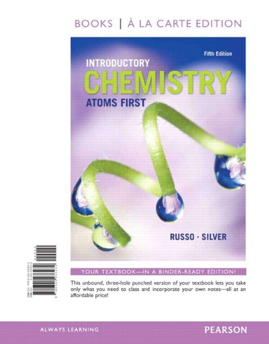 Introductory Chemistry: Atoms First, Books A La Carte Edition (5Th Edition)