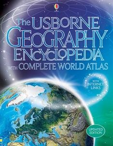 Usborne Geography Encyclopedia With Complete World Atlas Il