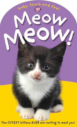Baby Touch And Feel Meow! Meow!: The Cutest Kittens Ever Are Waiting To Meet You