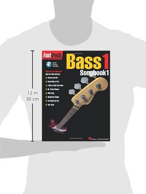 Fasttrack Bass Songbook 1 - Level 1 Bk/Online Audio