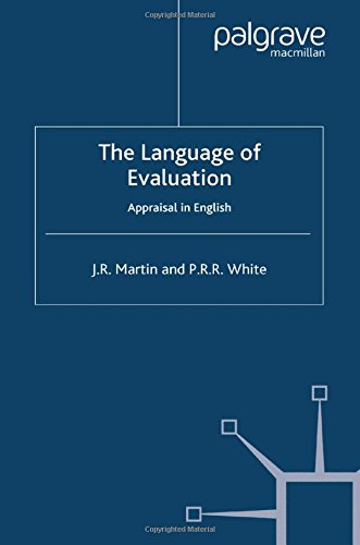 Language Of Evaluation: Appraisal In English
