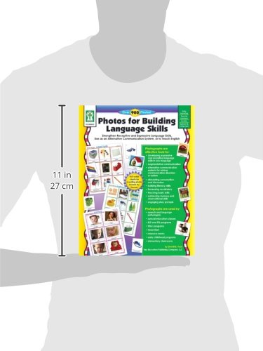 Photos For Building Language Skills: Strengthen Receptive And Expressive Language Skills, Use As An Alternative Communication System, Or To Teach English