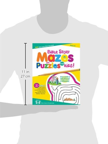 Bible Story Mazes Puzzle Book (I'M Learning The Bible Activity Book)