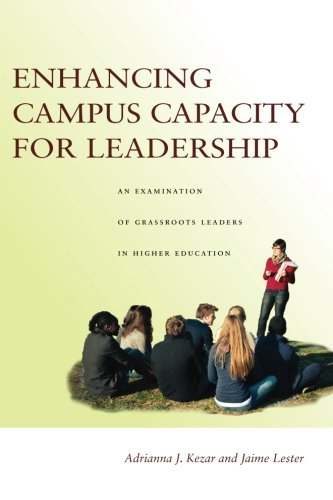 Enhancing Campus Capacity For Leadership: An Examination Of Grassroots Leaders In Higher Education