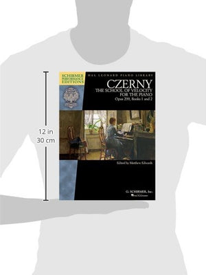 Czerny - School Of Velocity, Op. 299: Schirmer Performance Editions Book Only (Schirmer Performance Editions: Hal Leonard Piano Library)