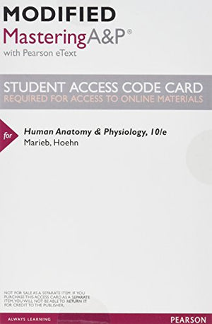 Human Anatomy & Physiology Package For University Of Massachusetts