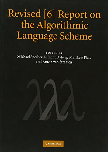Revised [6] Report On The Algorithmic Language Scheme
