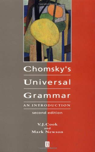 Chomsky'S Universal Grammar: An Introduction