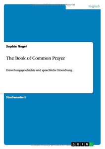 The Book Of Common Prayer (German Edition)