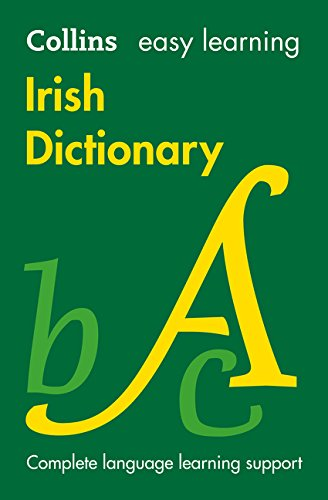 Collins Easy Learning Irish  Easy Learning Irish Dictionary