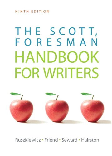 The Scott, Foresman Handbook For Writers (9Th Edition)