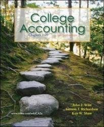 College Accounting: Chapters 1-29