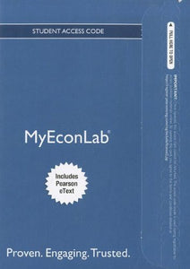 New Myeconlab With Pearson Etext -- Access Card -- For Economics Today: The Macro View (Myeconlab (Access Codes))
