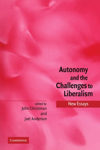 Autonomy And The Challenges To Liberalism: New Essays