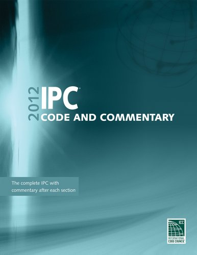 2012 International Plumbing Code Commentary (International Code Council Series)