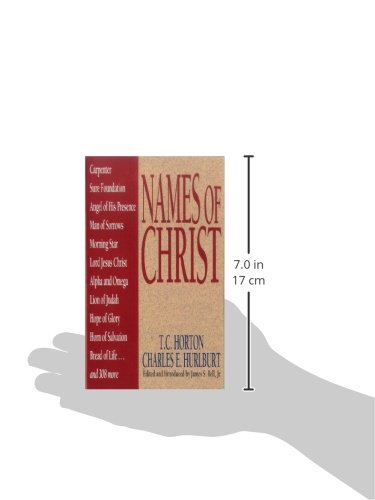 Names Of Christ (Names Of. Series)