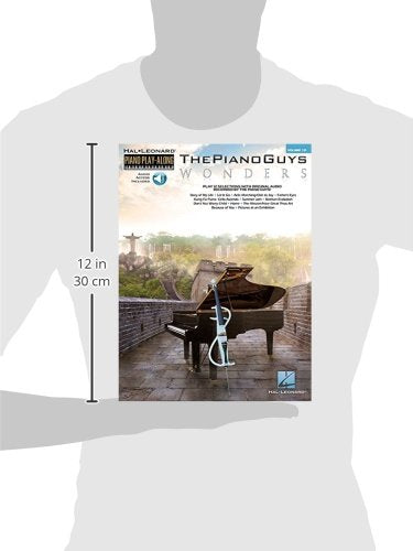 The Piano Guys - Wonders: Piano Play-Along Volume 131 (The Piano Guys - Hal Leonard Piano Play-Along)