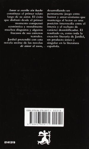 319: Amor Se Escribe Sin Hache (Letras Hispanicas / Hispanic Writings) (Spanish Edition)