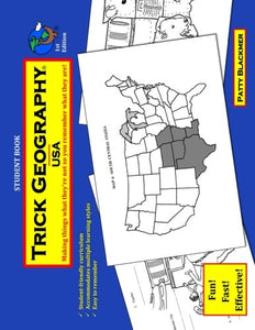 Trick Geography: Usa-Student Book: Making Things What They'Re Not So You Remember What They Are!