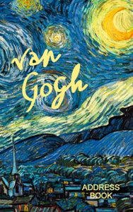 Address Book: Van Gogh Gifts/Presents (Small Telephone And Address Book) (Address Books - Fine Art & Floral)
