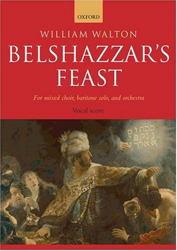 Belshazzar'S Feast: Vocal Score