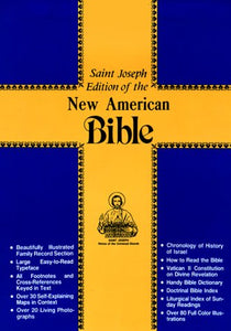 Saint Joseph Medium Size Bible-Nabre
