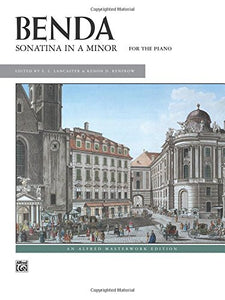 Sonatina In A Minor: Sheet (Alfred Masterwork Edition)