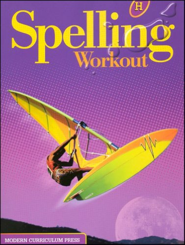 Spelling Workout Homeschool Bundle Level H Copyright 2002