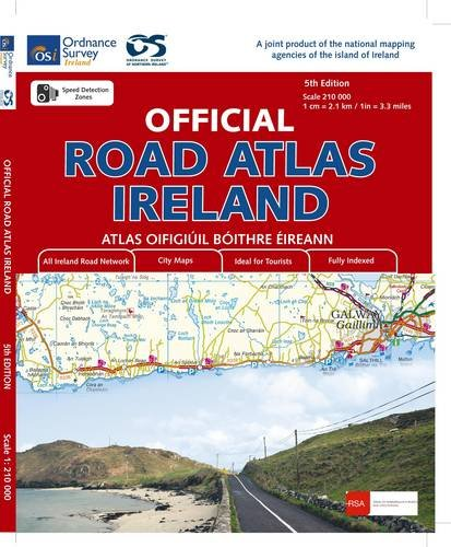 Official Road Atlas Ireland (Irish Maps, Atlases And Guides)