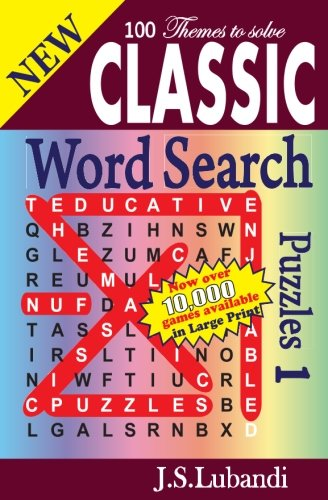 New Classic Word Search Puzzles. (Volume 1)