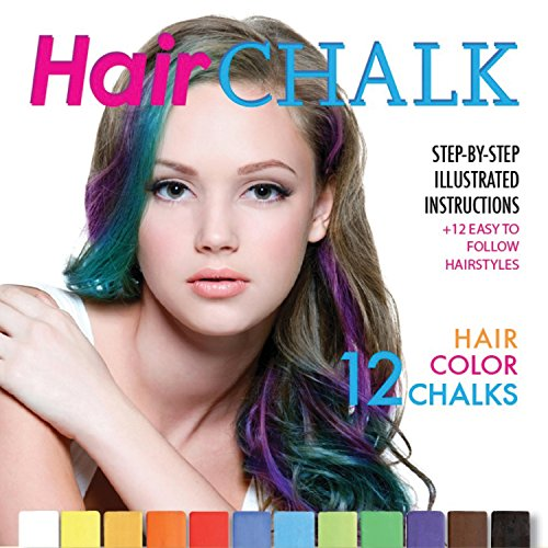 Hair Chalk: Step-By-Step Illustrated Instructions + 12 Easy To Follow Hairstyles